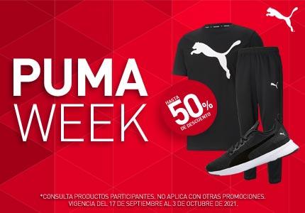 Hasta 50% de descuento en la Puma Week. Pulsa aquí para aprovechar la oferta.